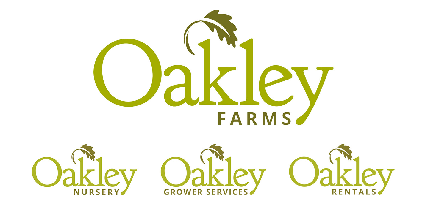 Oakley Farms logos