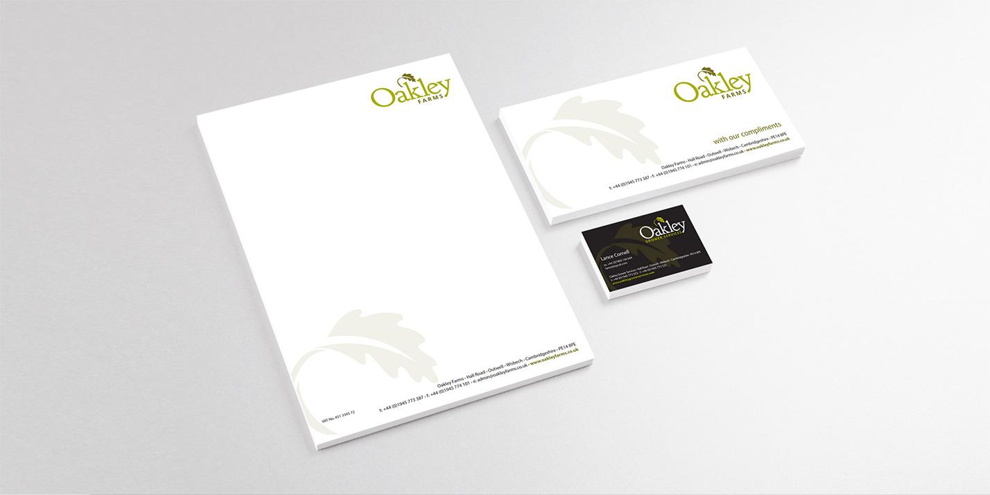 Oakley Farms printed literature