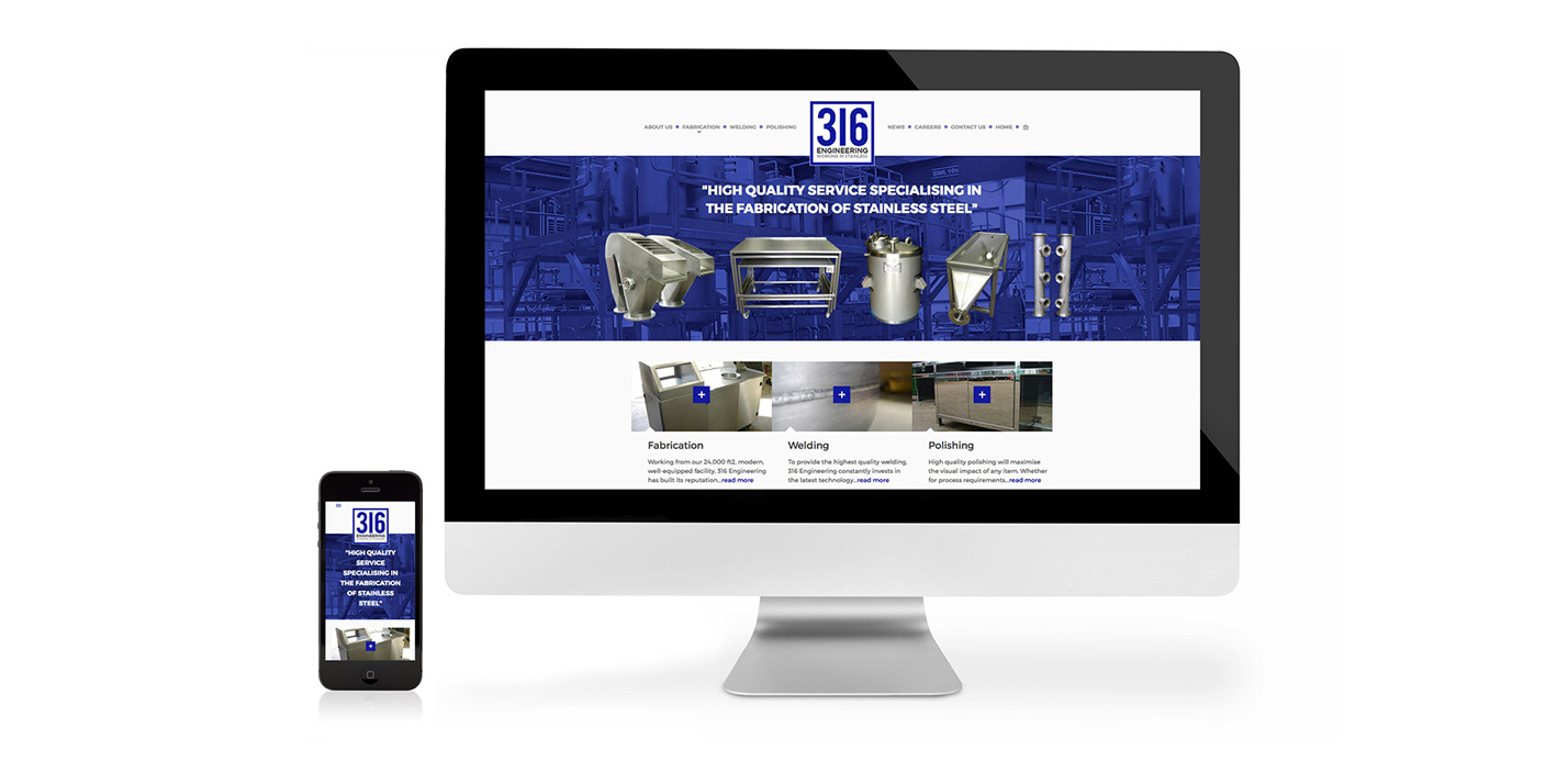 316 Engineering website