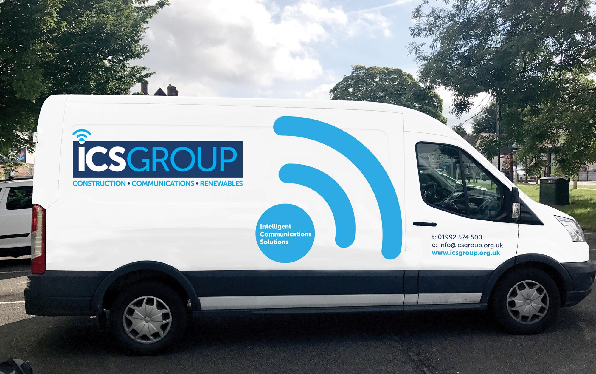 ICS Group vehicle livery
