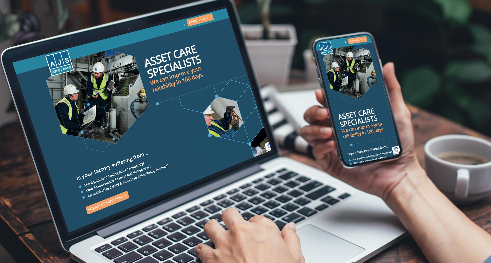 AJS-assetcare website