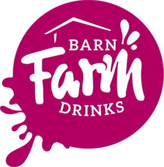 Barn Farm Drinks logo variation wine