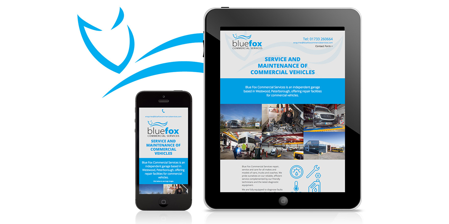 Blue Fox Commercial Services Website