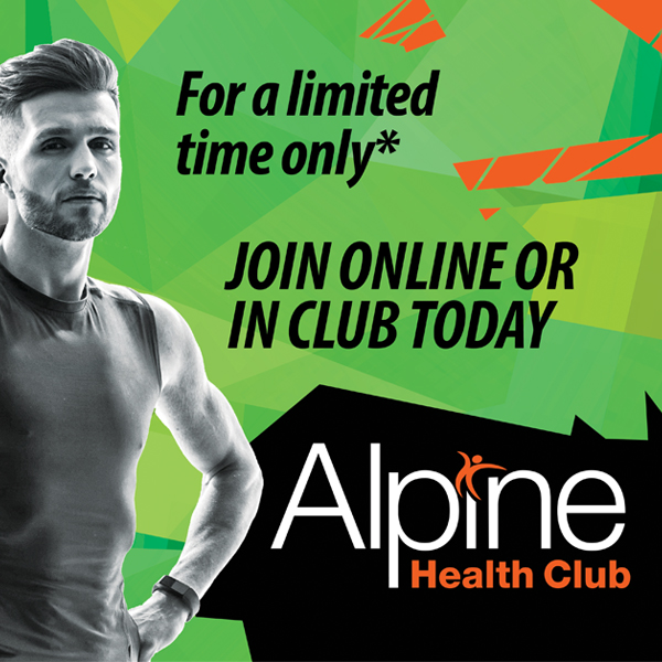 Alpine Health Club Branding