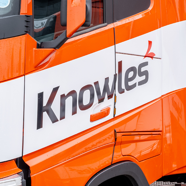 Knowles Transport branding