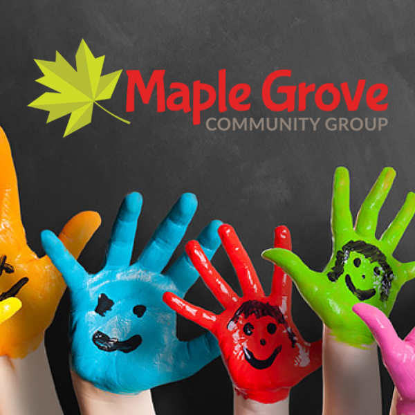 MapleGrove Community Group brand identityg