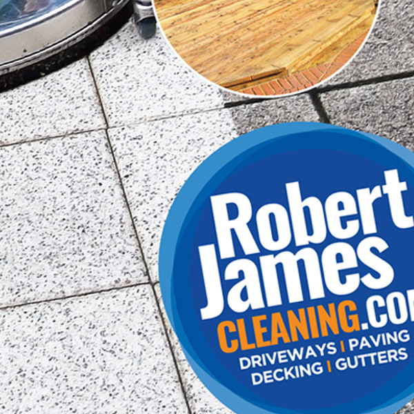Robert james Cleaning Branding