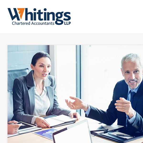 Whitings LLP brand identity