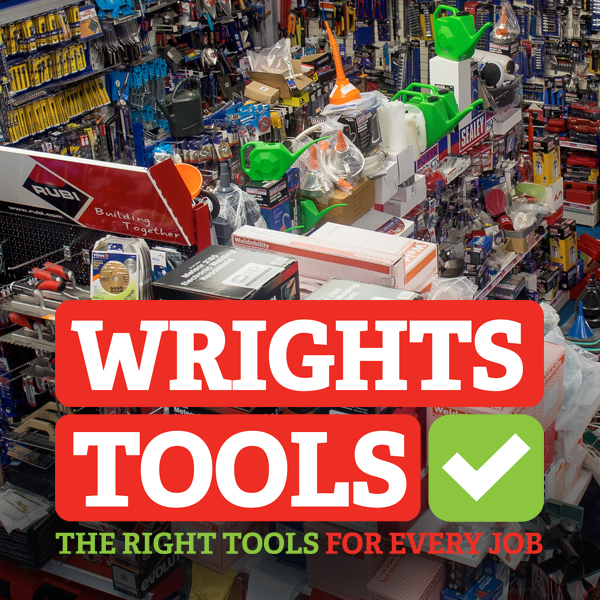 Wrights Tools branding