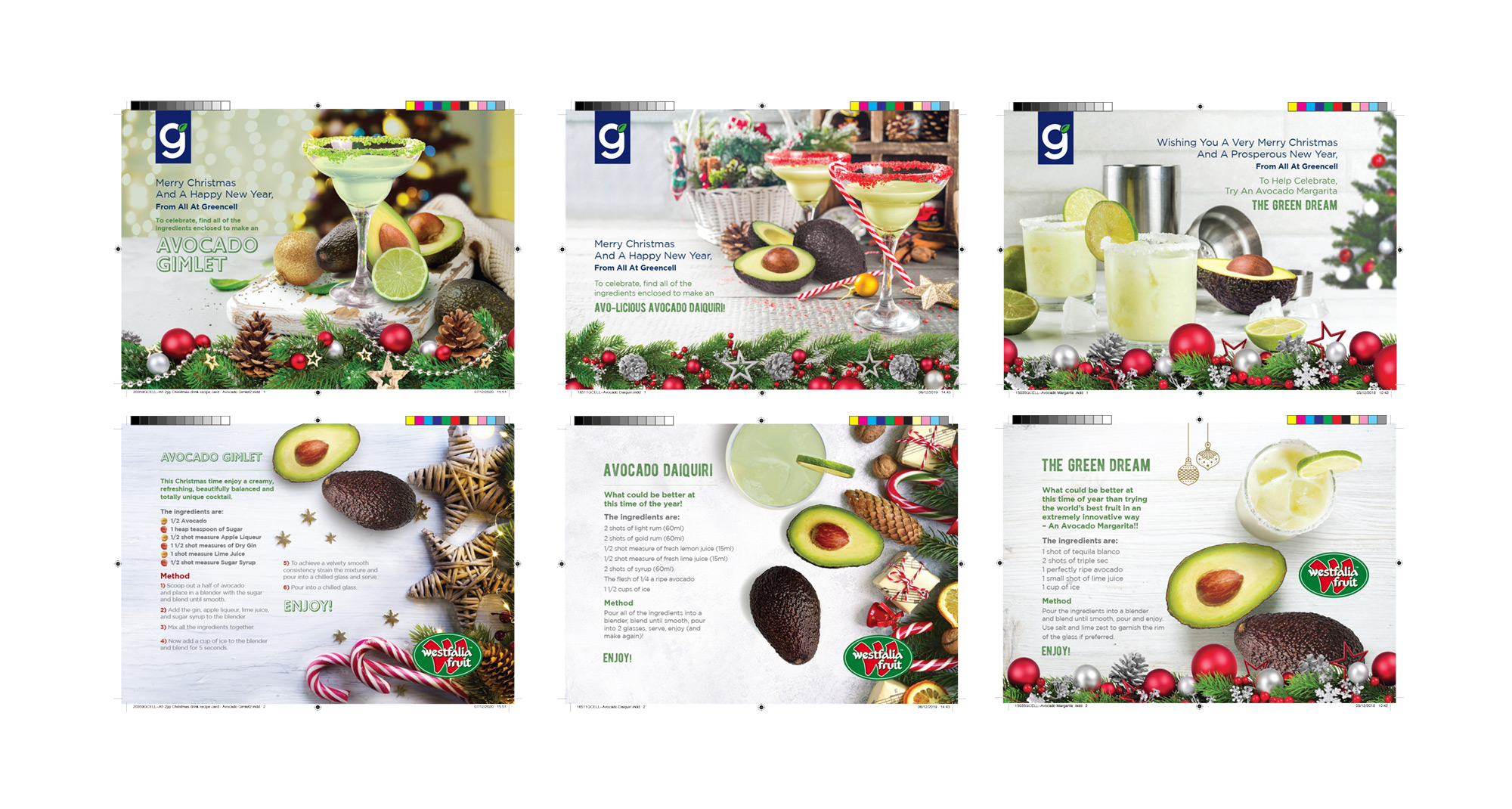 Greencell Literature adverts
