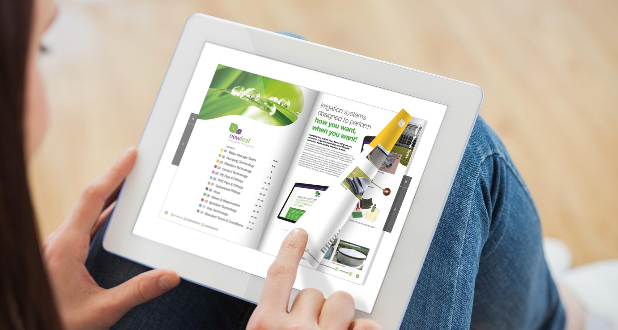 New Leaf web Literature catalogue