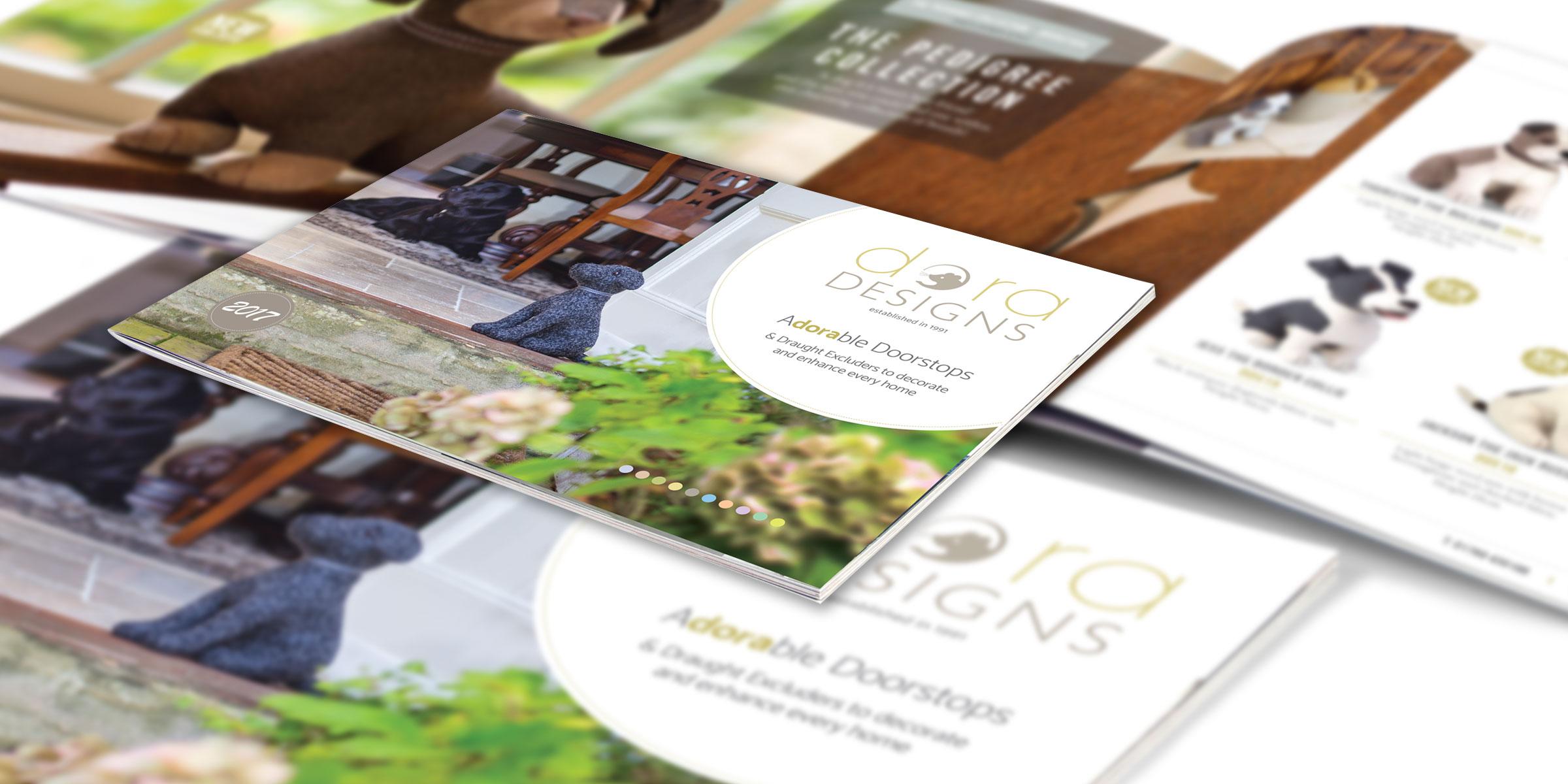 A4 landscape brochure
