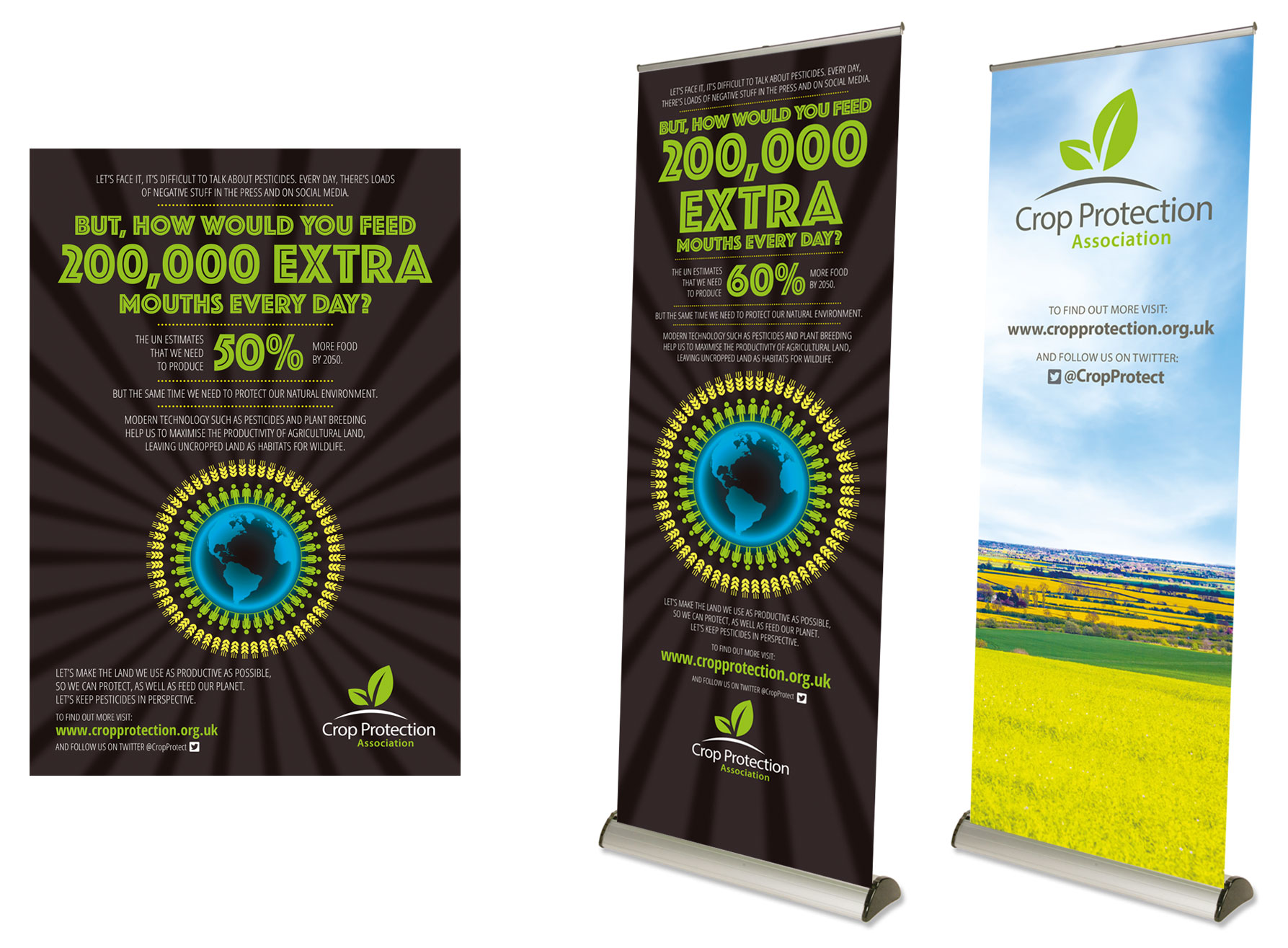 Crop Protection roller banner