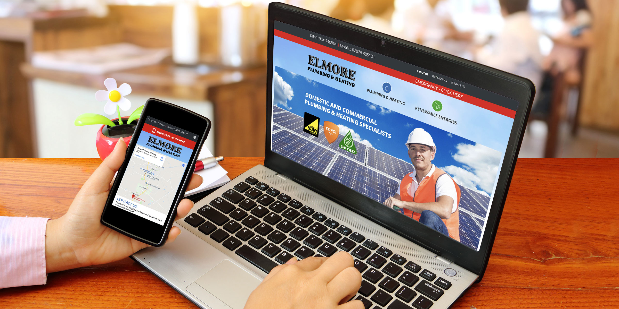 Elmore Plumbing Website