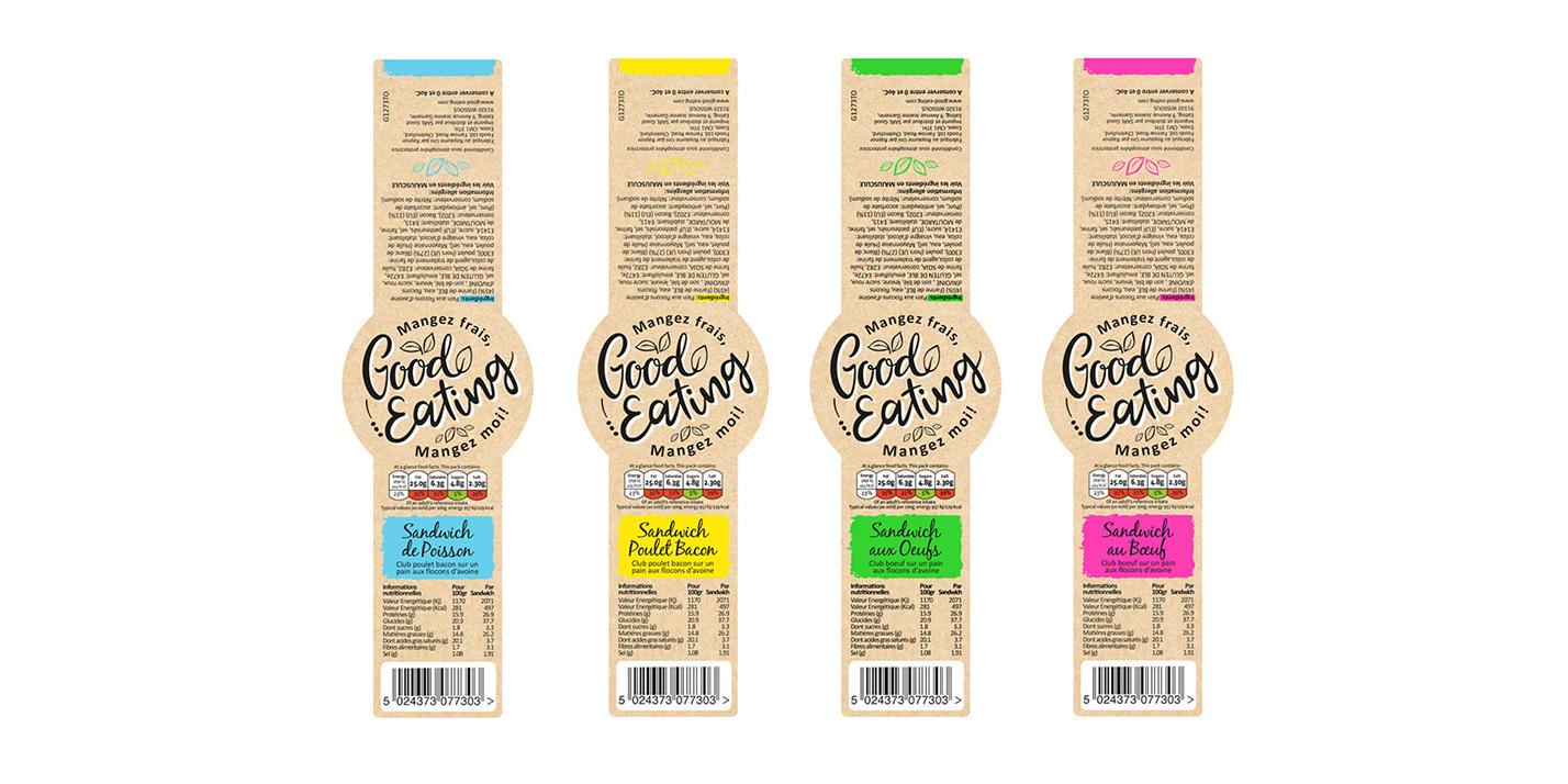 Good Eating sandwich packaging