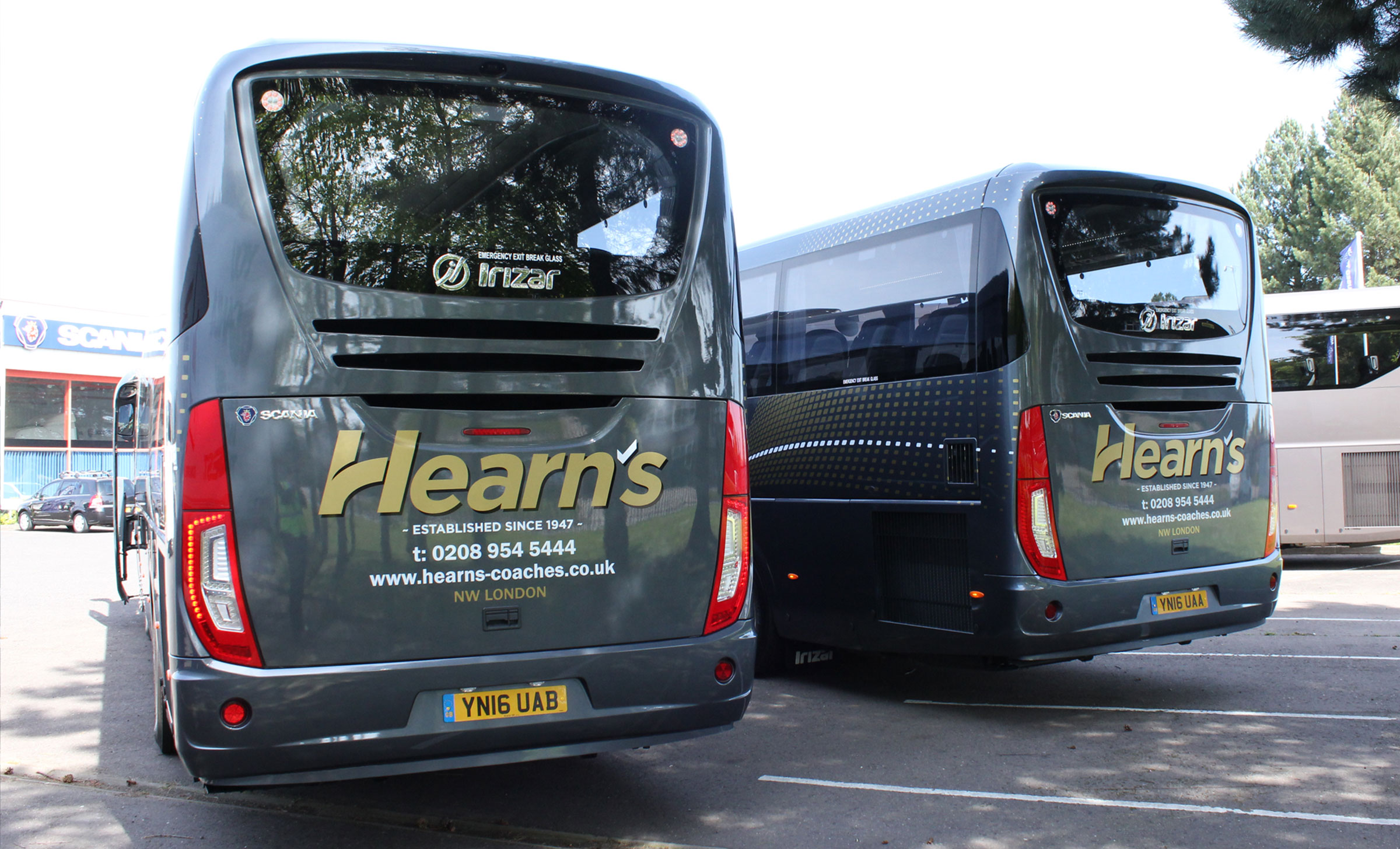 Hearns vehicle livery photography