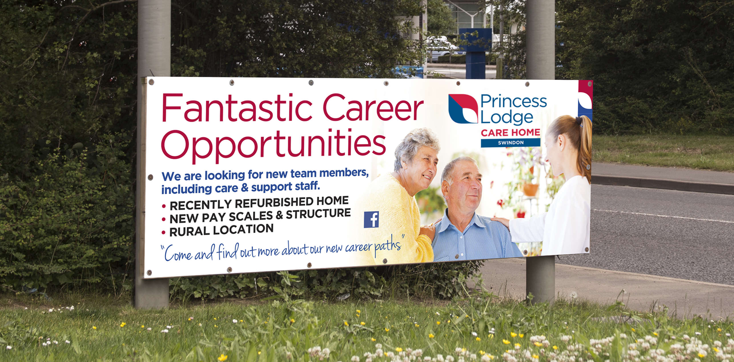Lifestyle Care signage billboard