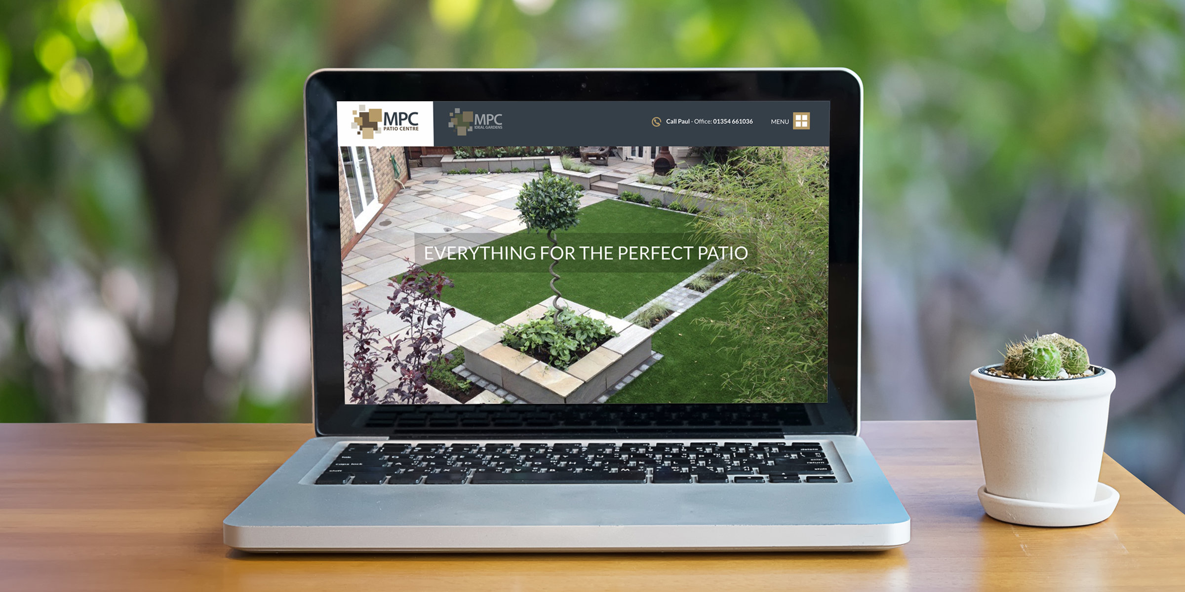 March Patio Centre Website Overview