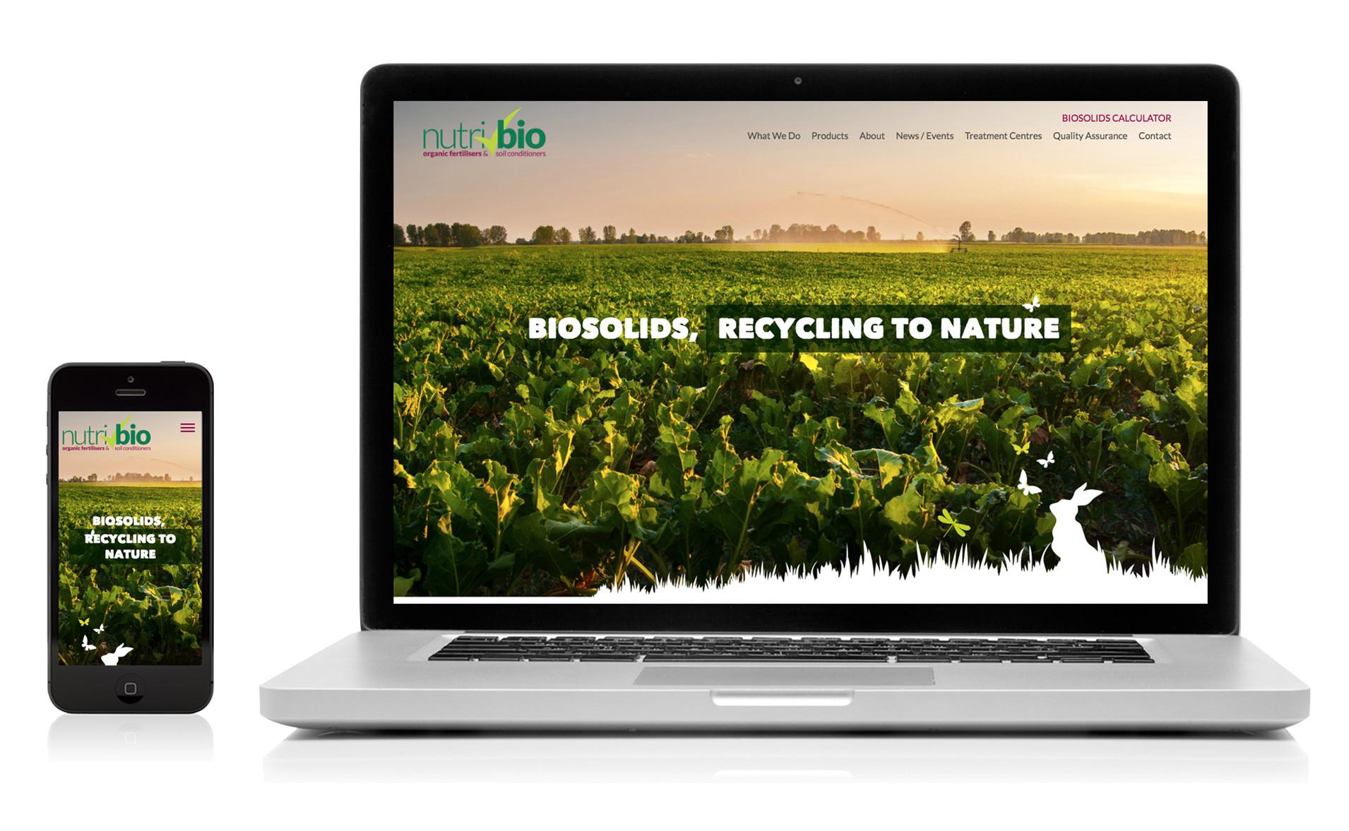 Nutri-Bio responsive website