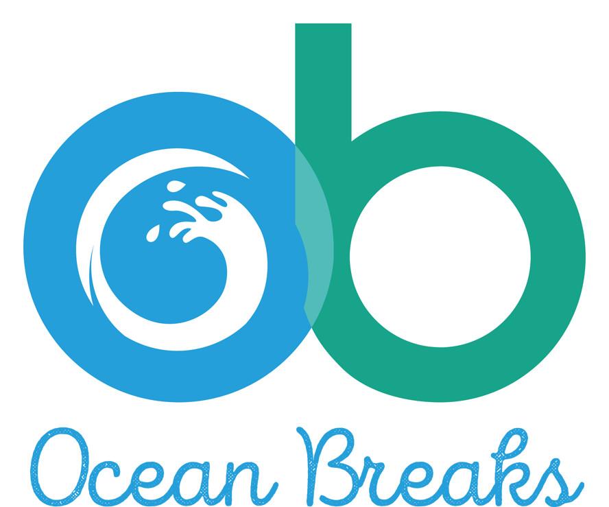 Ocean Breaks logo full colour