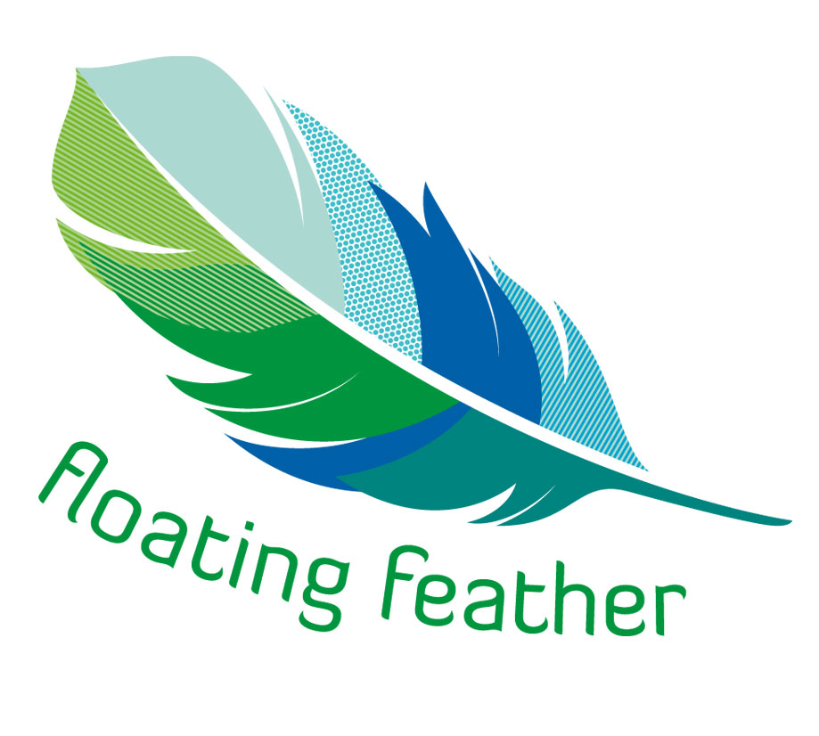 Product Branding Floating Feather