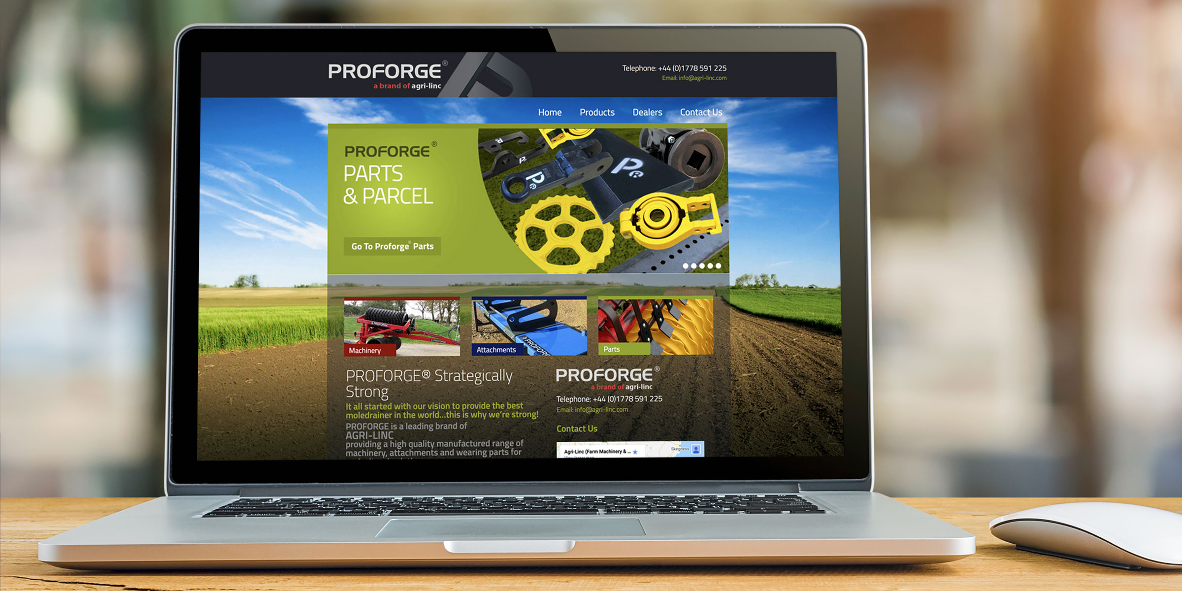 Proforge Website