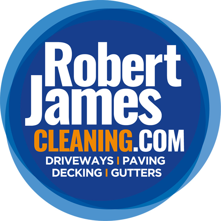 Robert James Cleaning logo in full colour