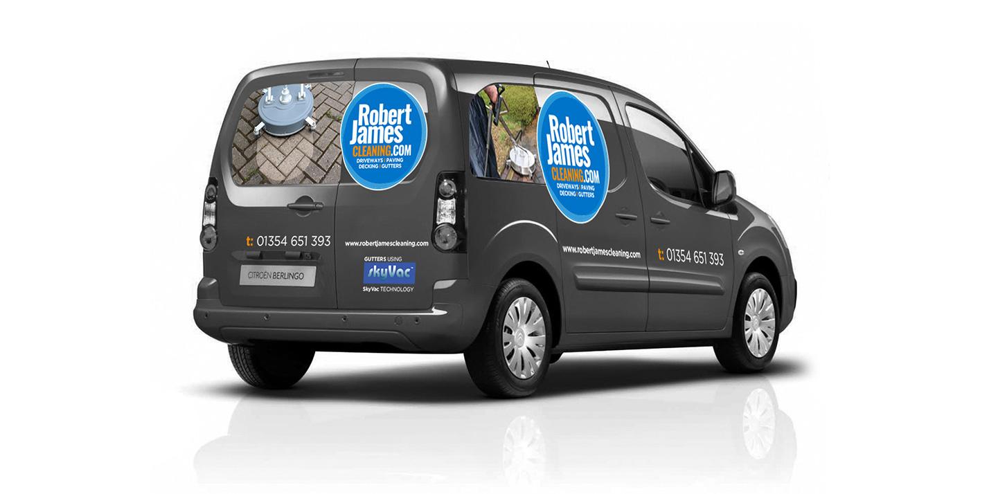 Robert James Cleaning Website