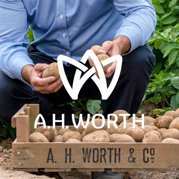 AH Worth logo