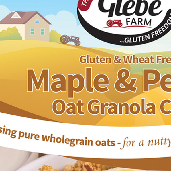 Glebe Farms packaging design