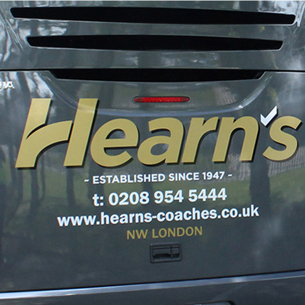 Hearns vehicle Livery Graphics