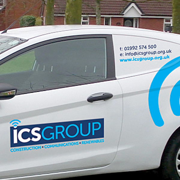 ICS vehicle Livery Graphics