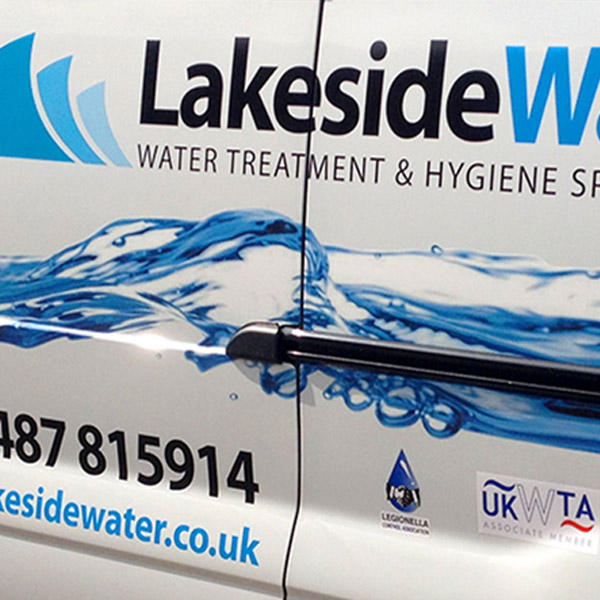 Lakeside Water vehicle Livery Graphics