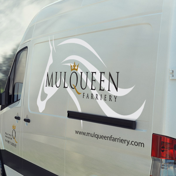Mulqueen vehicle Livery Graphics