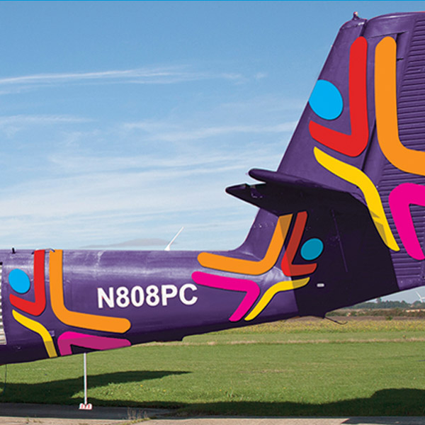 North London Skydiving Aeroplane Livery Graphics