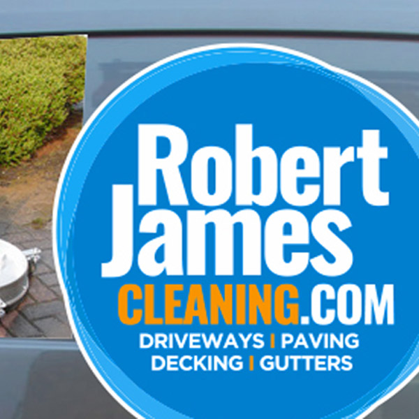 Robert James Cleaning vehicle Livery Graphics