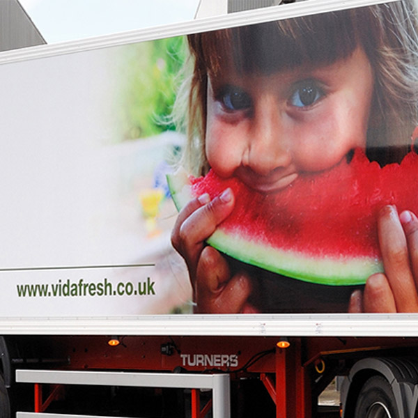 Vidafreesh vehicle Livery Graphics
