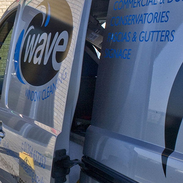Wave Cleaning vehicle Livery Graphics