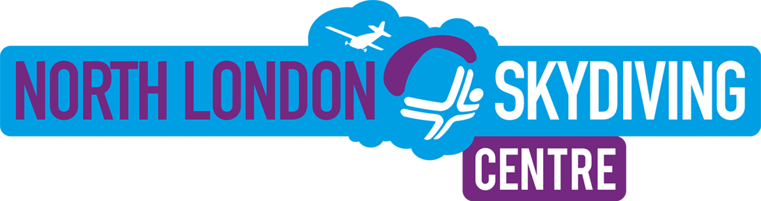 North London Skydiving alternative horizontal logo