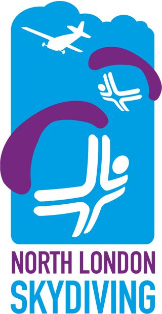 North London Skydiving logo in colour