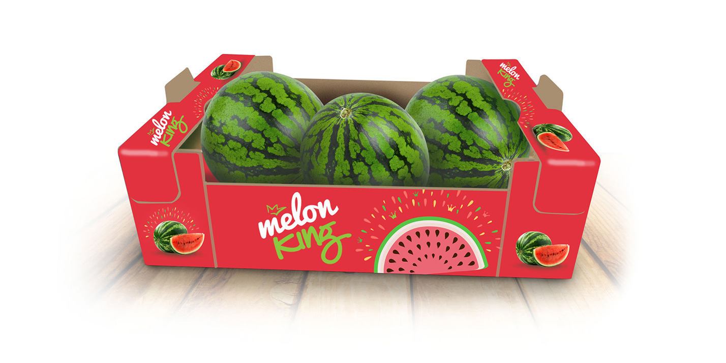 Melon King packaging