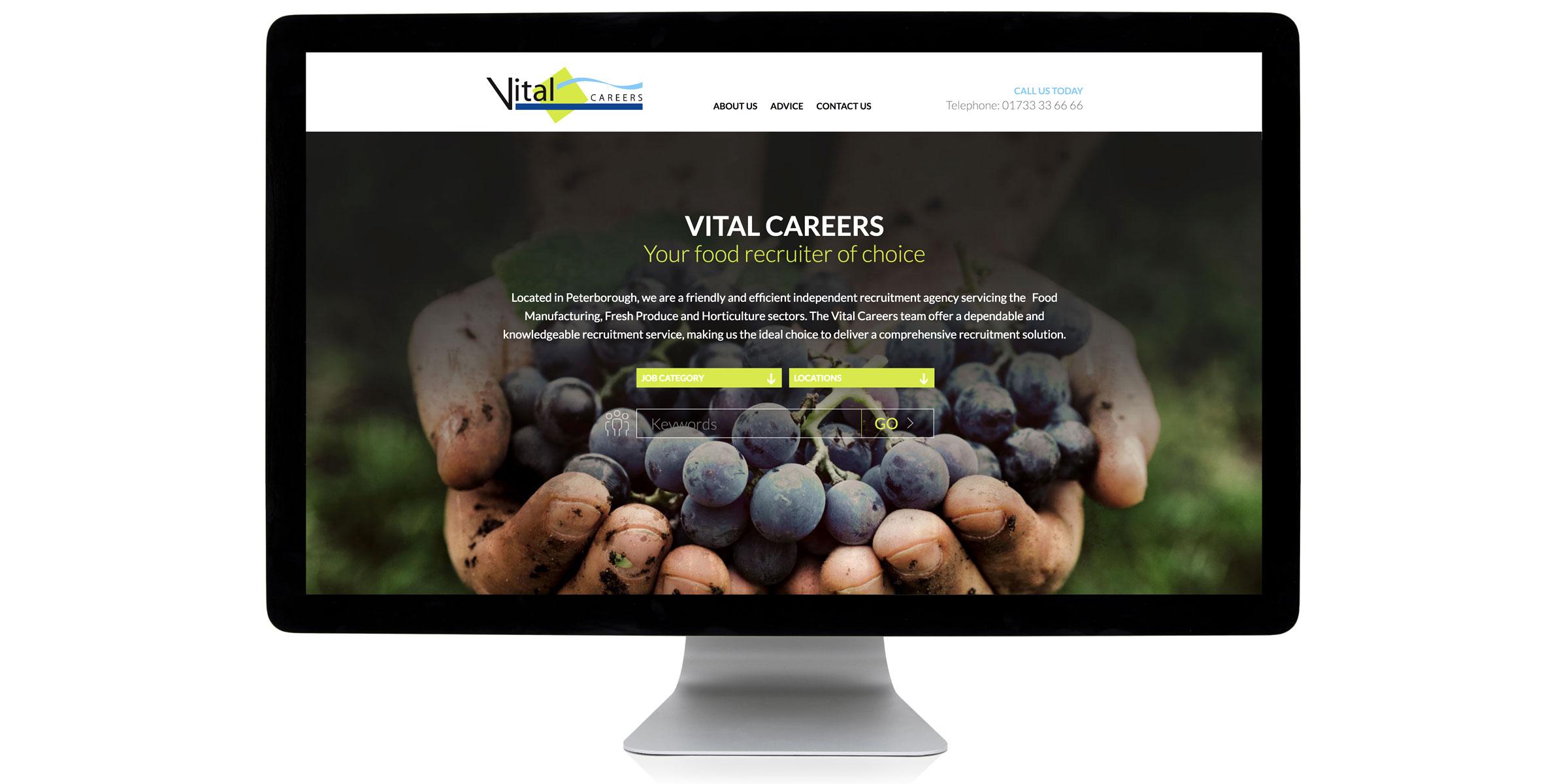 Vital Careers Website