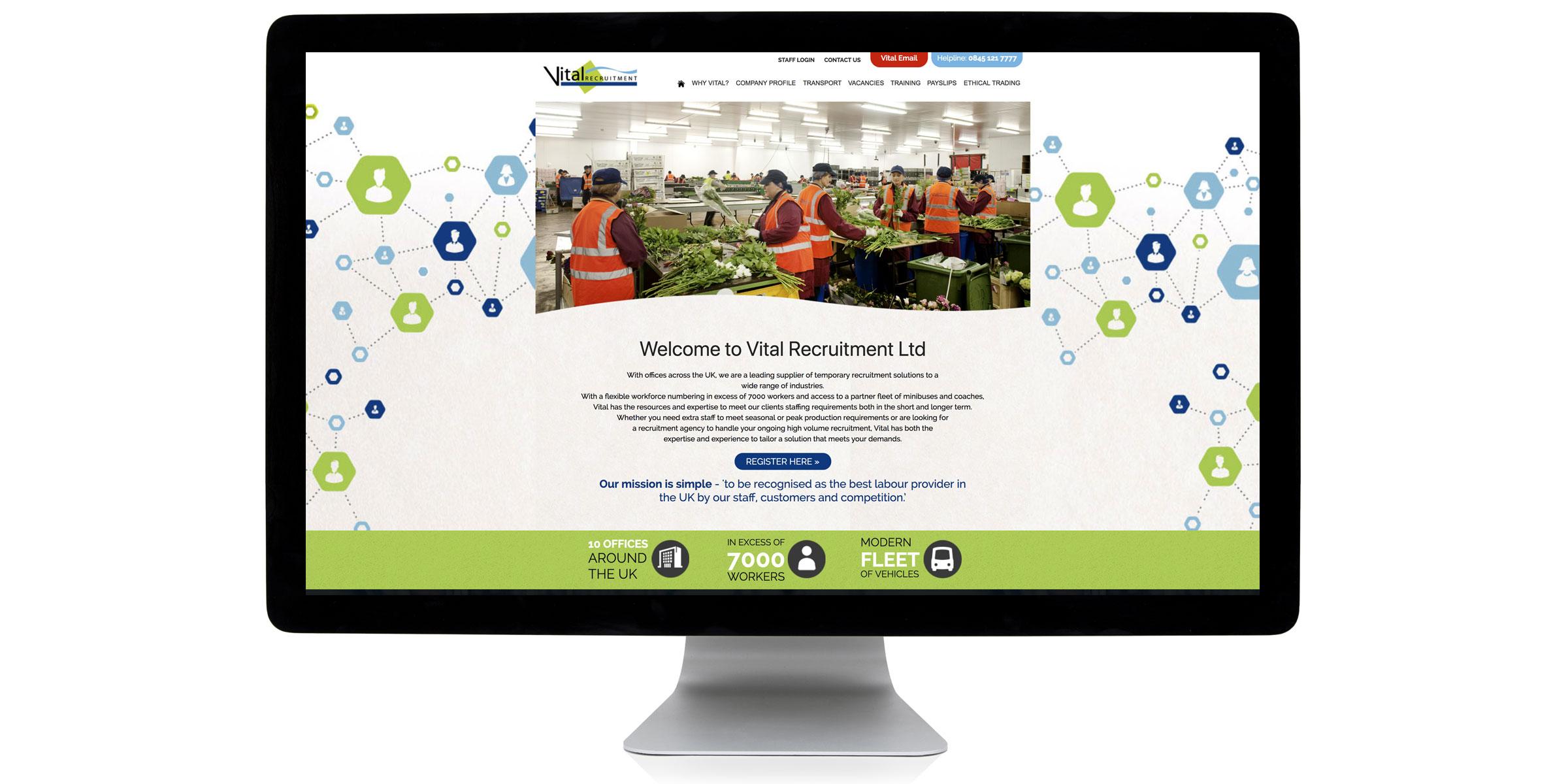Vital Recruitment Website