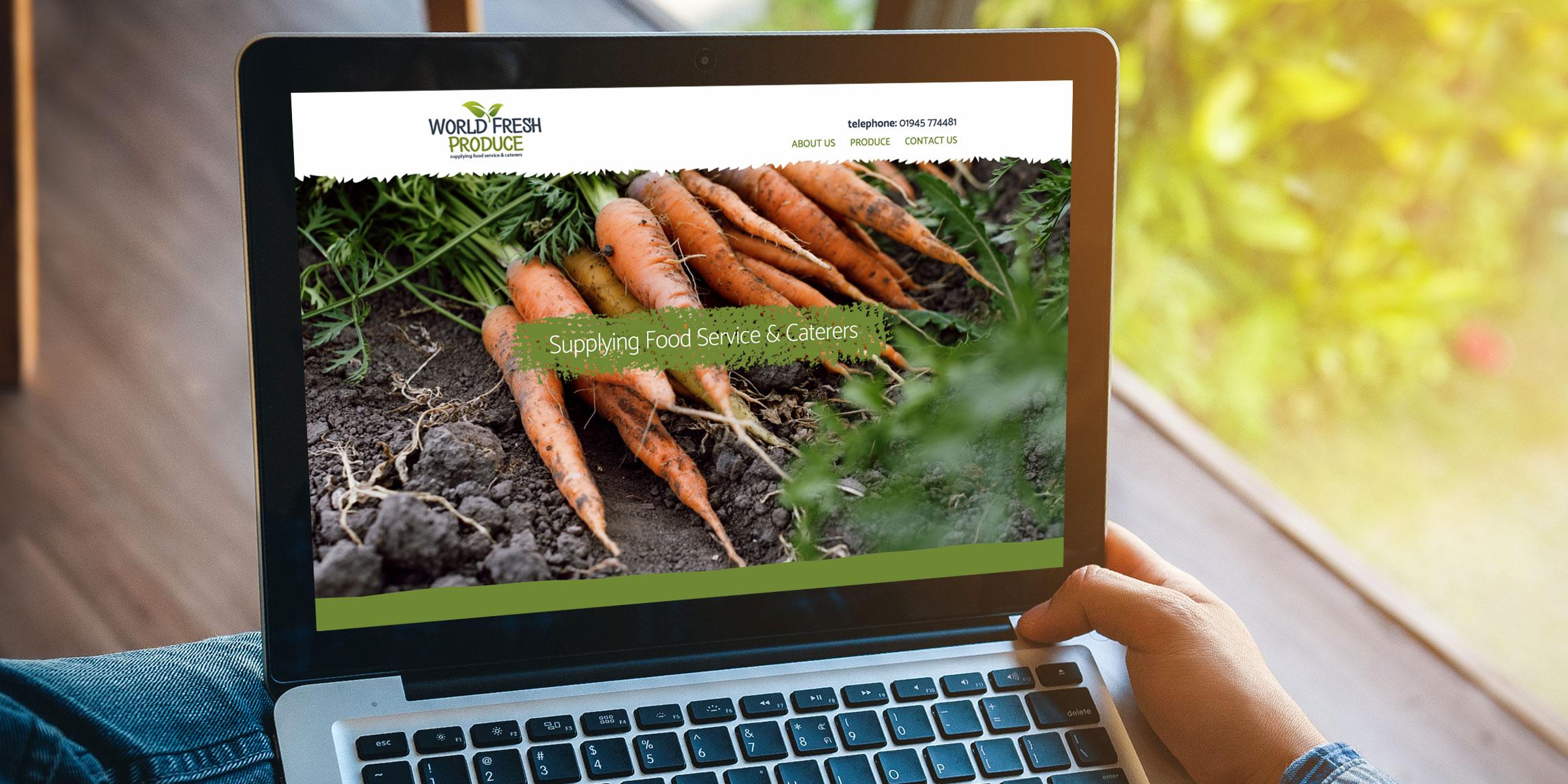 World Fresh Produce website