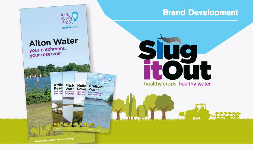 "Anglian Water ""Slug It Out"" campaign"